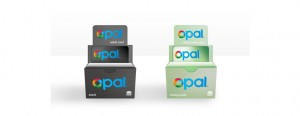 OPAL Card retail Display