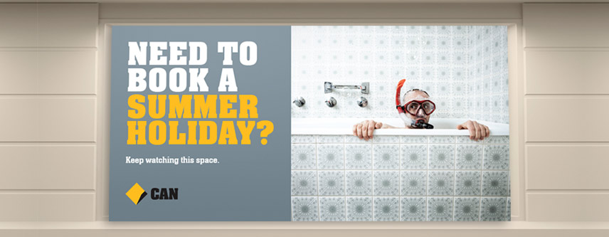 COMMONWEALTH BANK SUMMER HOLIDAY SIGNAGE