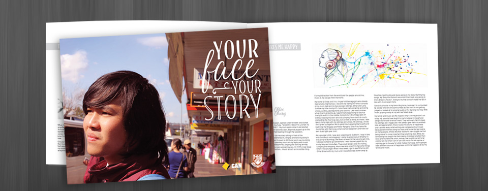 COMMBANK YOUR FACE YOUR STORY BOOKLET