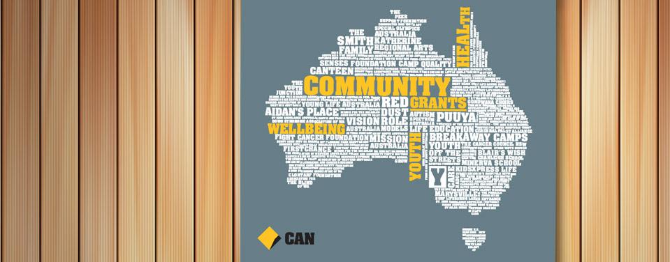 CAN Community Grants creative